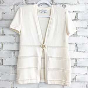 St. John Collection | Sweater Cardigan | Size 2